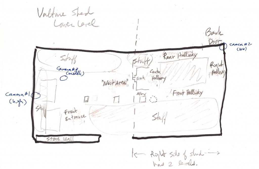 Vulture Shed Layout